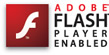 Adobe Flash Enabled
